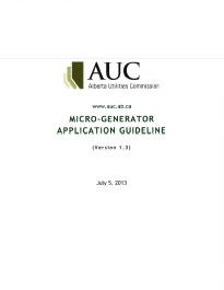AUC MicroGenerator Application Guideline